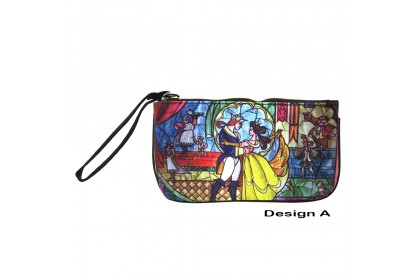 DISNEY PRINCESS BELLE BATB CANVAS WRIST POUCH