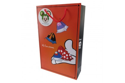 DISNEY MICKEY MOUSE GO LOCAL GAME PAPER BAG (S SIZE)