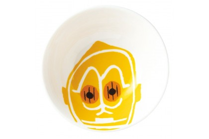 DISNEY STAR WARS C3PO PORCELAIN RICE BOWL
