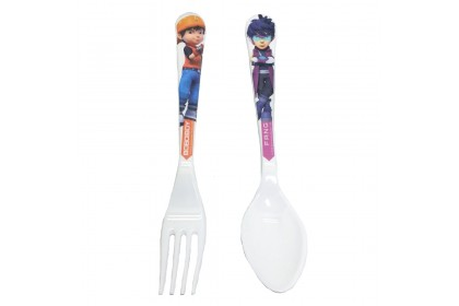 BOBOIBOY GALAXY FORK & SPOON SET