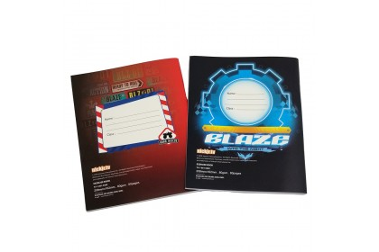 BLAZE MONSTER MACHINES EXERCISE BOOK SET (2 IN 1)